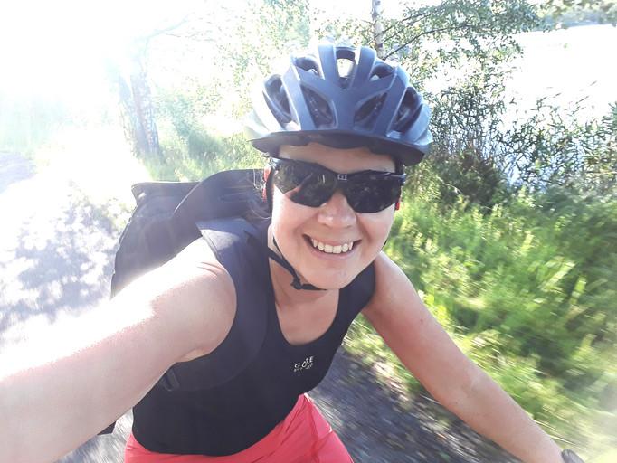 Cyklar mig lycklig