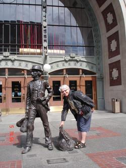 ... posing Tacoma, WA.