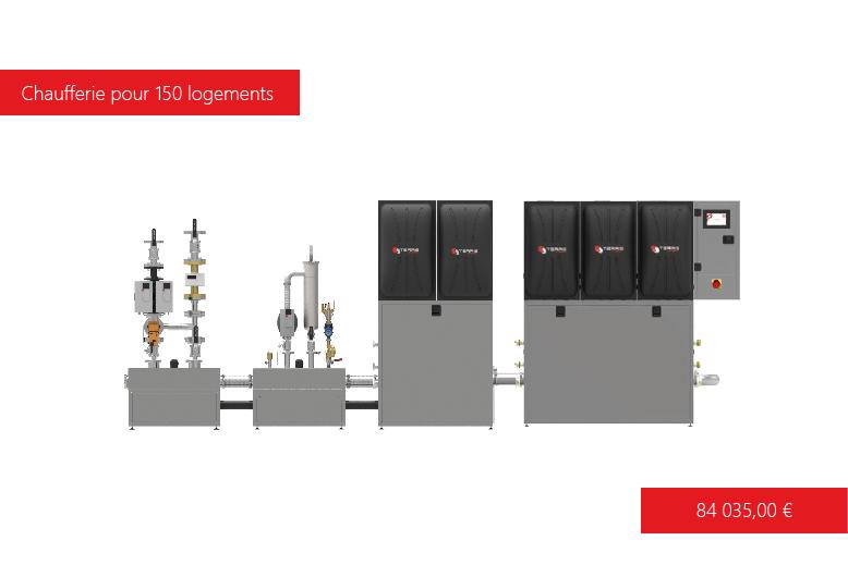 Solution de chauffage T-EASY 625 kW  Terris Energy