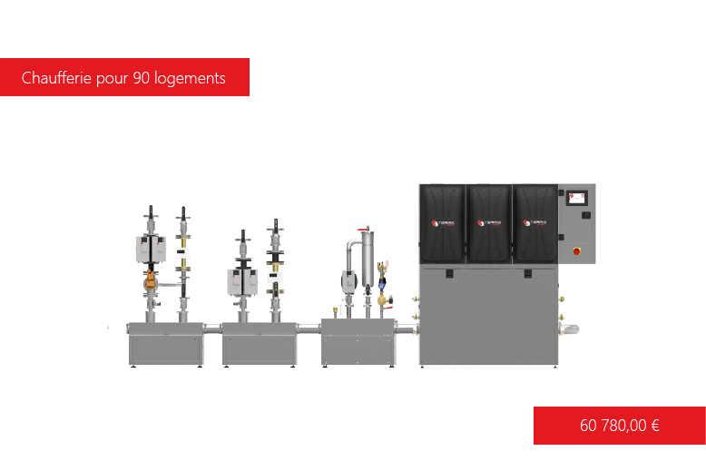 Solution de chauffage T-EASY 375 kW  Terris Energy