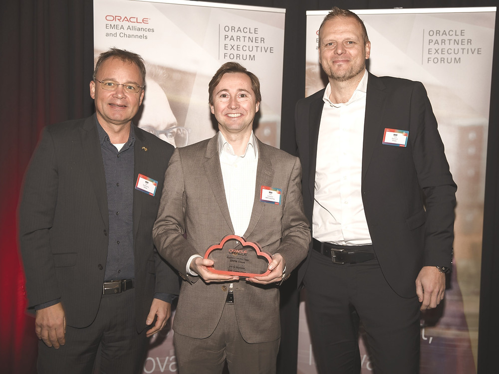 EBS Consukting-Oracle Partner of the year 2018