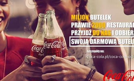 MILION BUTELEK DO ZGARNIĘCIA. OBIERZ DARMOWĄ COCA-COLĘ