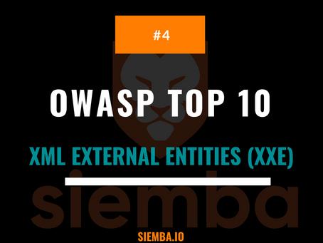 OWASP Top 10 : XML External Entities (XXE) Vulnerability