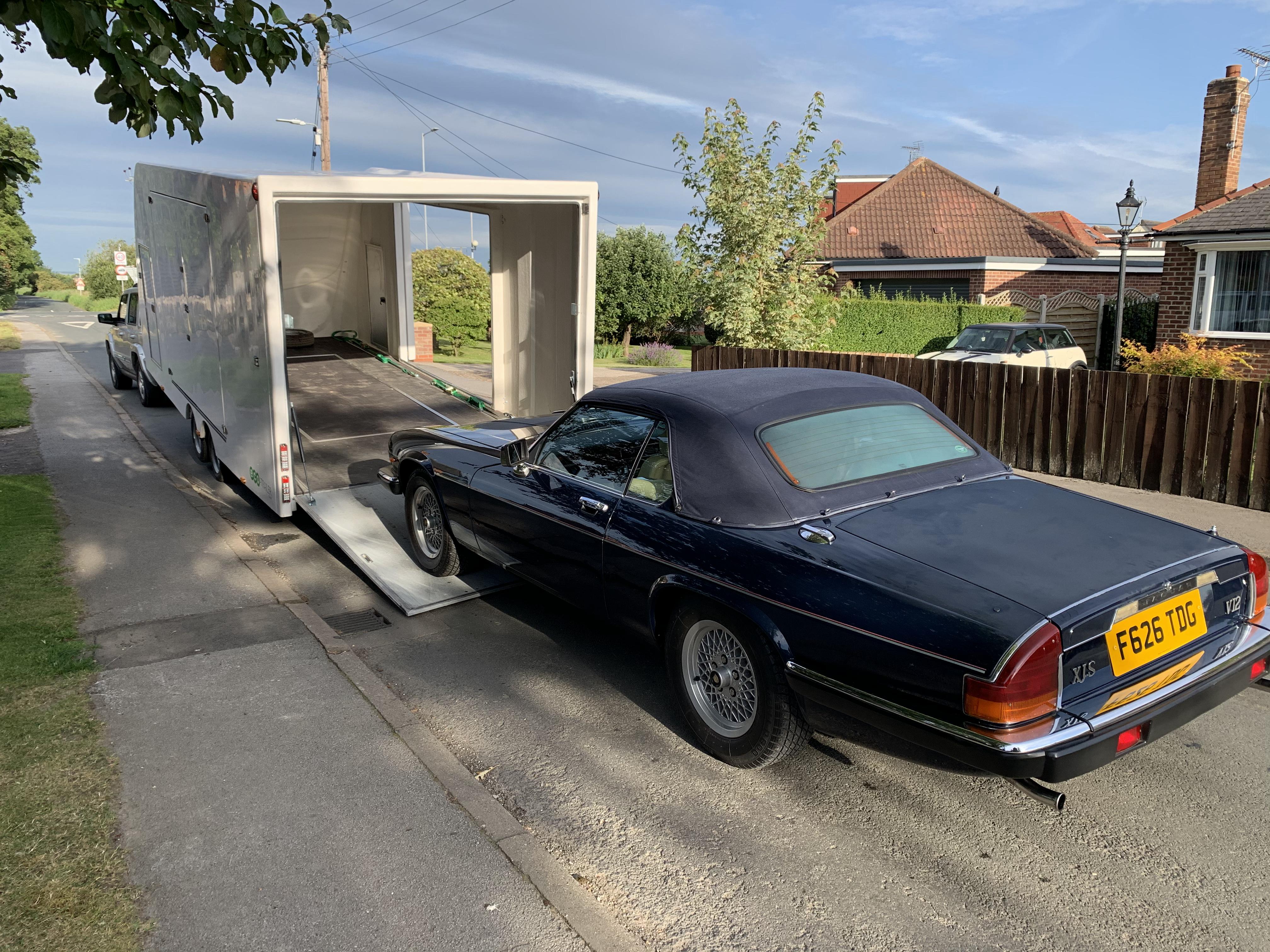 Classic Car Transportation Hull   Pipe Dreams Classic Cars