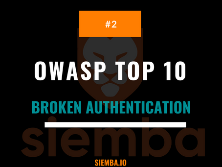 OWASP Top 10 : Broken Authentication