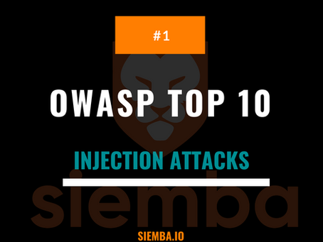 OWASP Top 10 : Injection Attacks