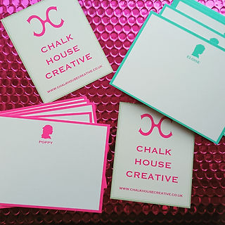correspondence cards pink and turq.jpg