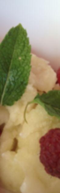 Sorbet de fleurs de sureau