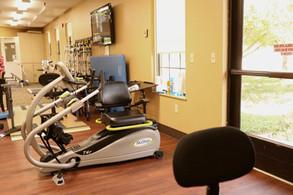 Rehab gym at Retirement Ranch