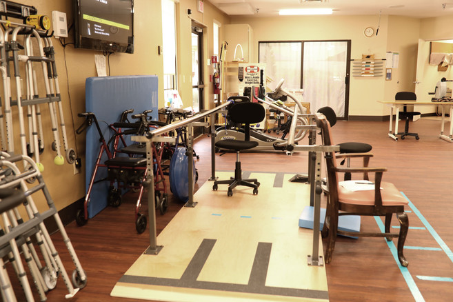 Rehab therapy room