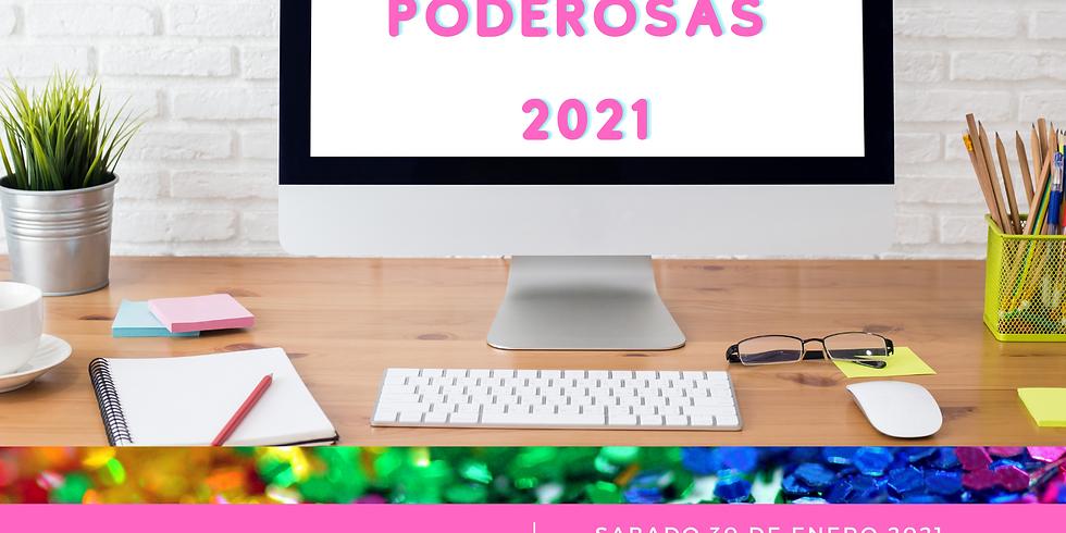 "PRIMER TALLER ONLINE VIA ZOOM ""METAS PODEROSAS 2021"" CUPO ILIMITADO"