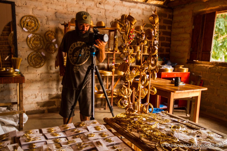 Fotografando o Capim-Dourado