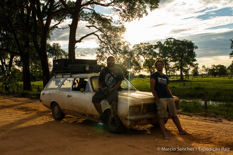 A Expedição Raiz no Pantanal