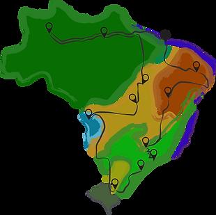 Mapa da Expedição Raiz