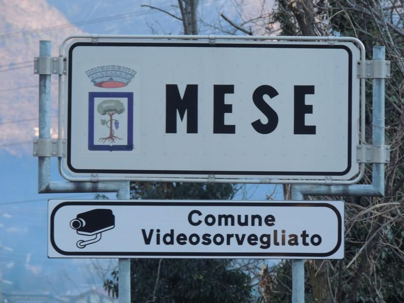 VIDEOSORVEGLIANZA COMUNE DI MESE