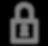 Lock Icon - Grey