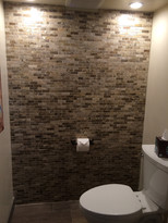 Northstar - finished master bath (moved the wall, added tiled accent wall, and installed new appliances and fixtures)