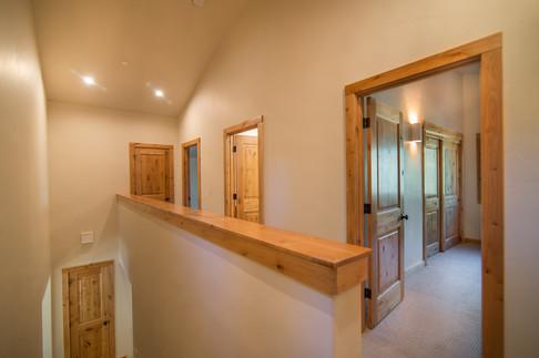 Tahoe Donner - upstairs hallway