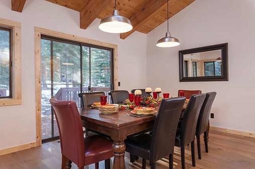 Martis - finished dining room (formerly a bedroom)