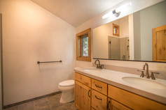 Tahoe Donner - master bath