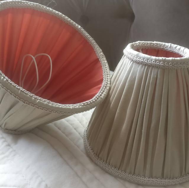 Duo de froncés en soie