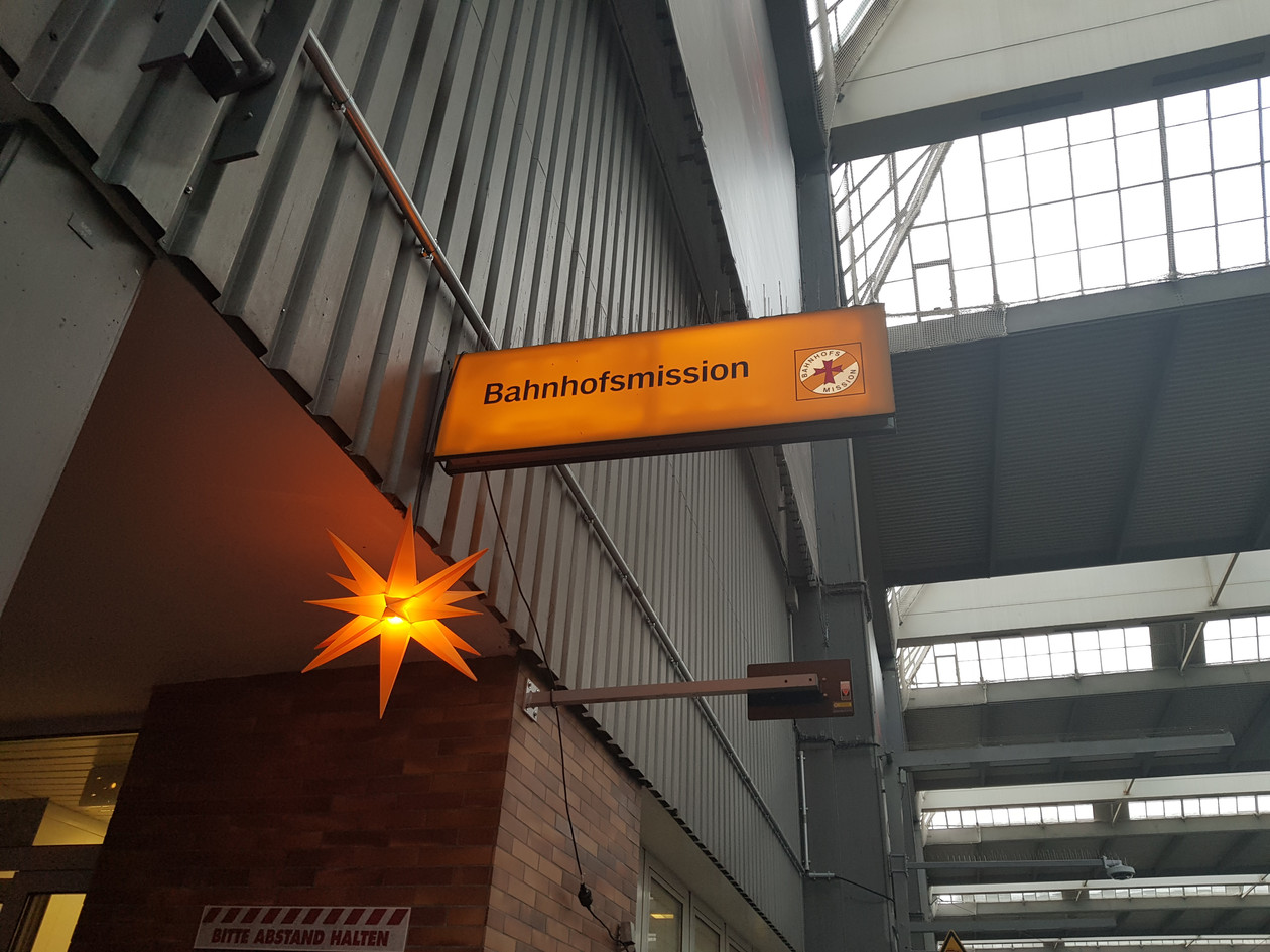 München Hbf - Bahnhofsmission (@ Foto privat)