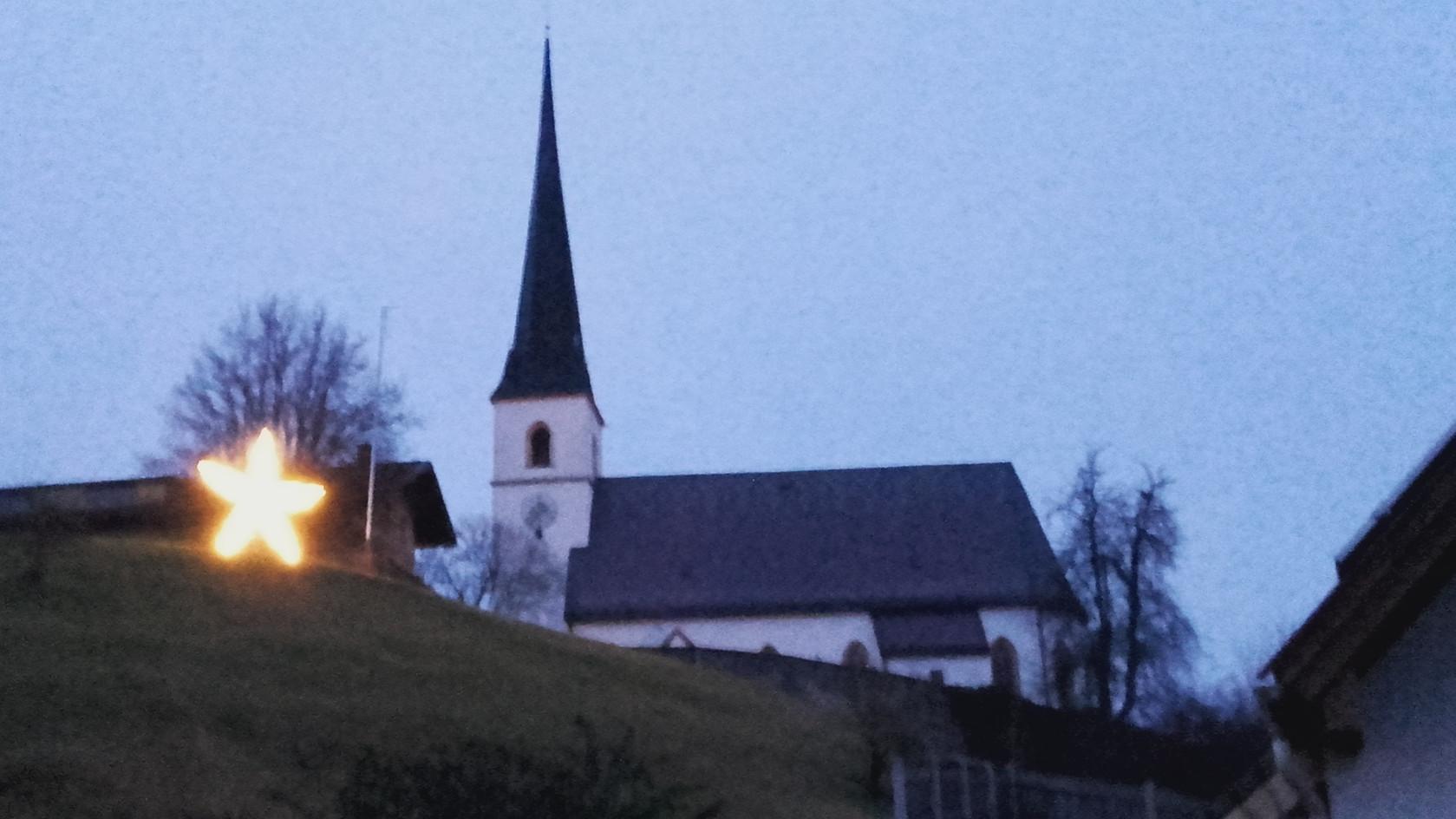 Taching am See - Kirchberg (@ Foto privat)