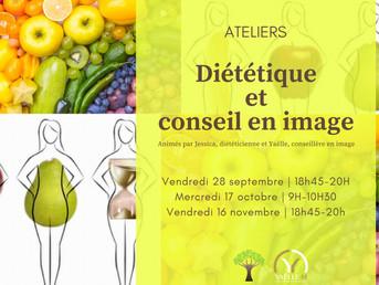 Evènement (28.09) Ateliers diététique et conseil en image