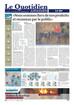"""Journal """"Le Quotidien Jurassien"""""""