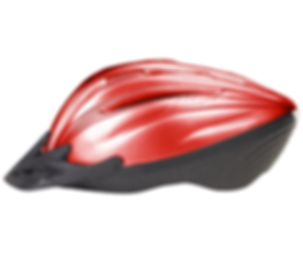 Red Fahrradhelm