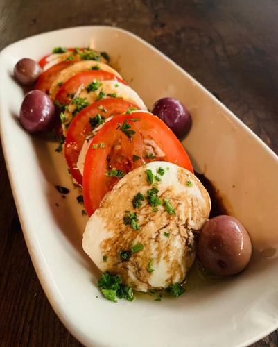 Tomatoes and Mozarella