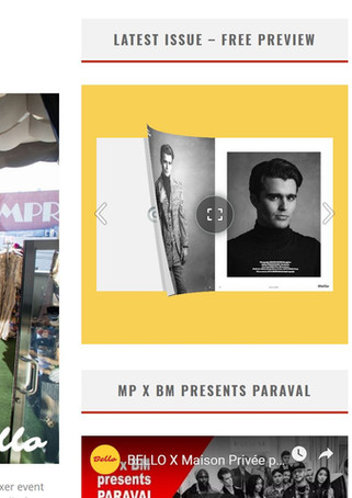 Maison Privée & BELLO Media Group Fall Fashion Preview & Mixer