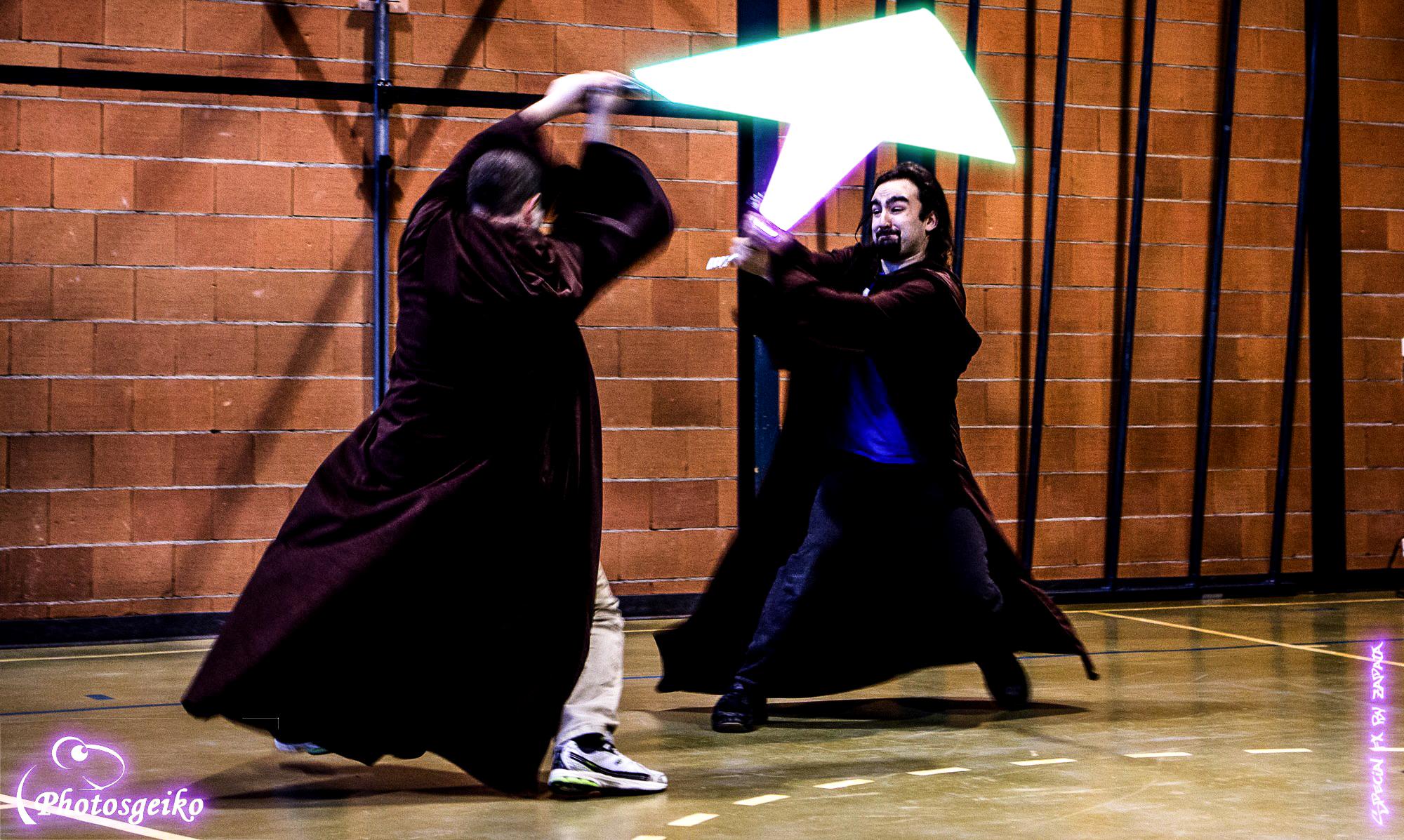 SFA duel aux sabres laser