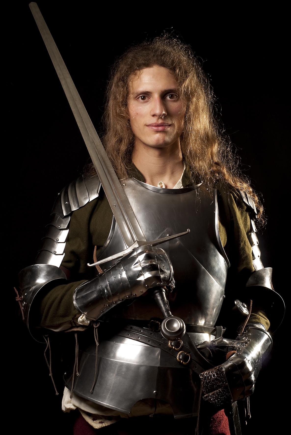 Jeune chevalier italien