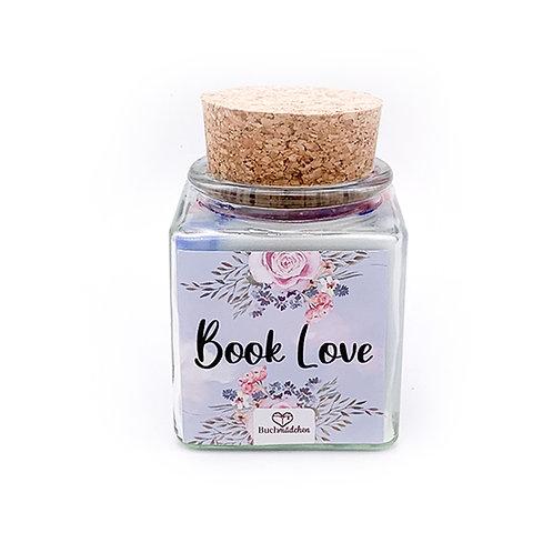 Specialkerze mit Korken »Book Love«