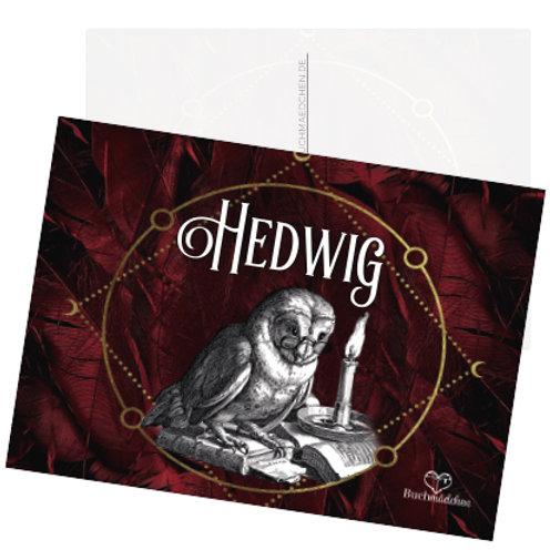Postkarte »Hedwig«