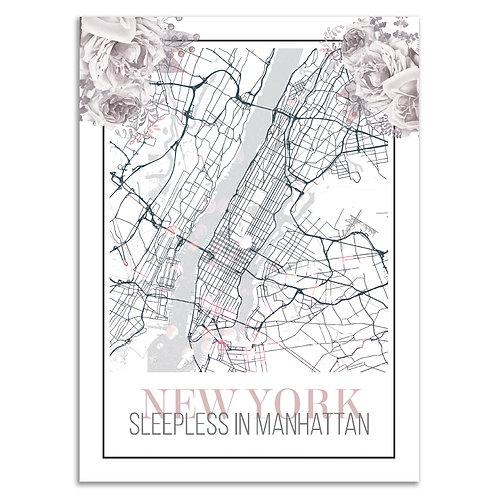 XL Print »Sleepless in Manhattan«