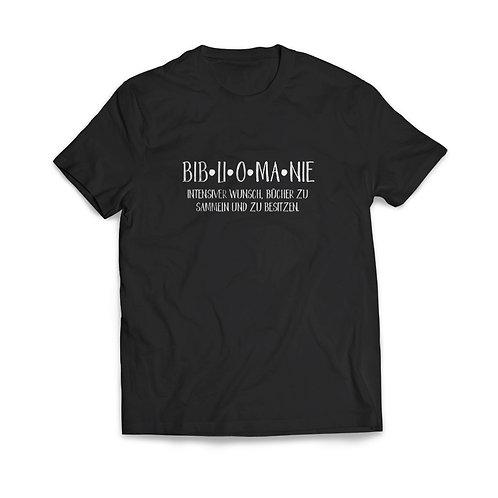 Shirt »Bibliomanie«