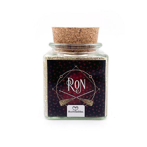 Specialkerze mit Korken »Ron«  [Glitter Edition]