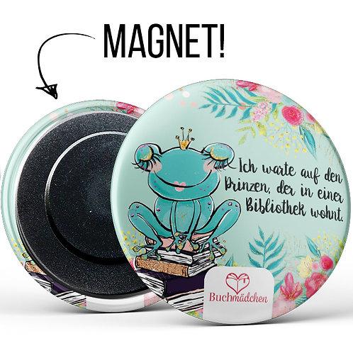 Magnetbutton »Frosch«