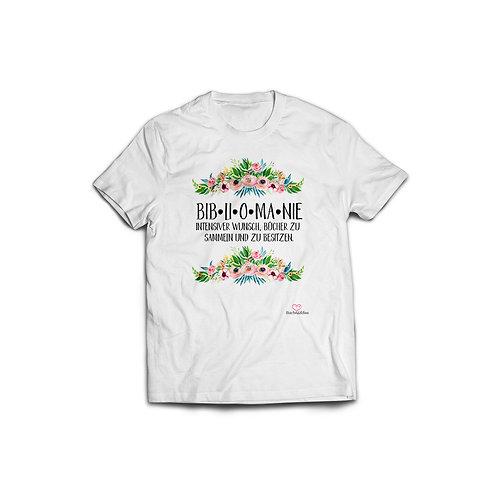 Shirt »Bibliomanie« 52