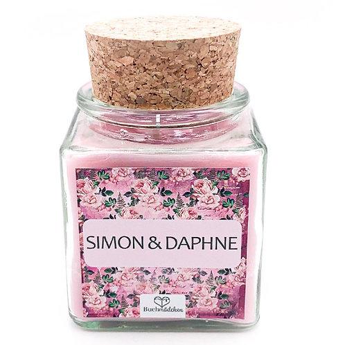 Specialkerze mit Korken »Simon & Daphne«
