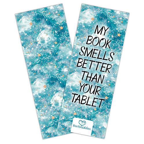 Lesezeichen »Smells better«