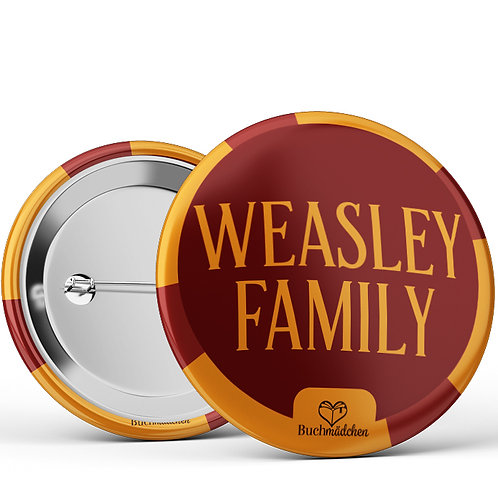 Ansteckbutton »Weasley Family«