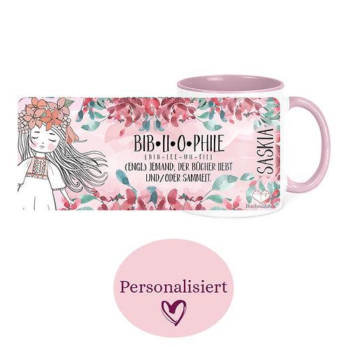 [Personalisiert] Tasse »Bibliophile«