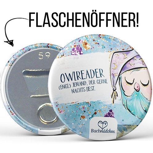 Flaschenöffner »Owlreader«