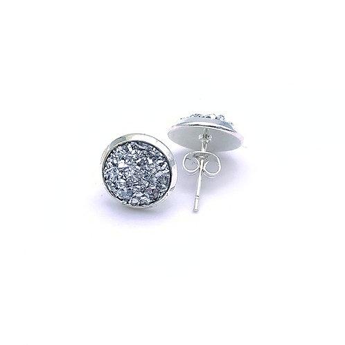 Ohrringe »silver glitter«