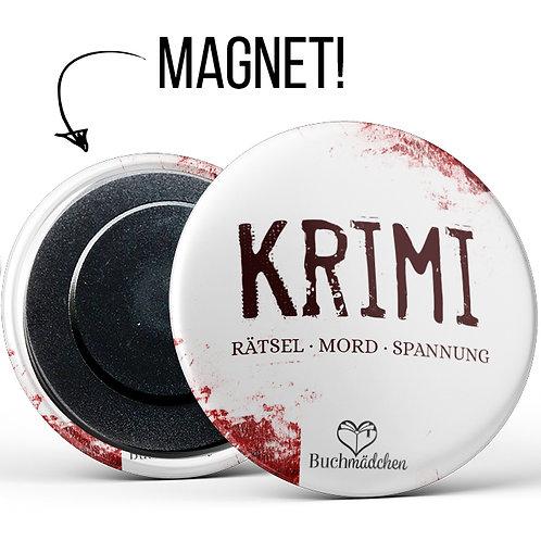 Magnetbutton »Krimi«