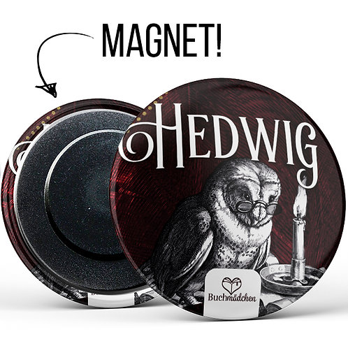 Magnetbutton »Hedwig«