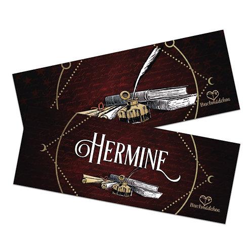 Lesezeichen »Hermine«
